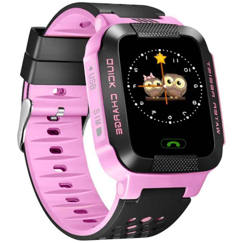 Y21G Детские умные часы gps LBS трекер телефон детские регулируемые наручные часы Smartwatch с SOS для девочек и мальчиков подарки на день рождения