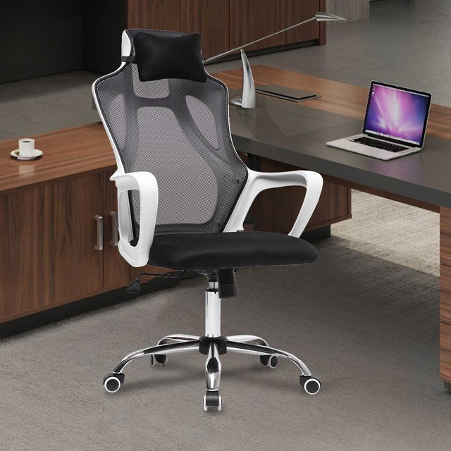 Gaming Office Chairs Ergonomic Mesh Computer Chair High Back Seat Desk Chair Home Office Recliner Gamer Chair Conference Chairs 1
