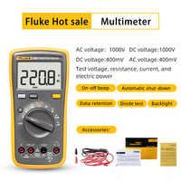 Fluke 15B +/17B +/18B +/12E + multimètre numérique voltmètre continu voltmètre ampèremètre de Test