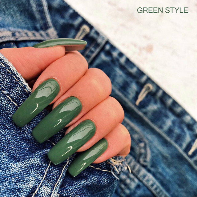 7ml Colorful Gel Varnish UV Vernis Semi Permanent Soak Off Nail Painting Polish Lacquer DIY Nail Art Design Manicure Tool BE1571 6