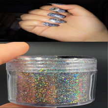 1box GALAXY HOLO Nail Flakes Magic Holographic Chameleon Bling Rainbow Chrome Powder Shiny Color Glitter P#