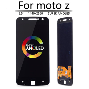 Image 5 - Original AMOLED For Motorola Moto Z Droid XT1650 LCD Display Touch Screen Digitizer XT1650 01 XT1650 03 Screen with Burn Shadow