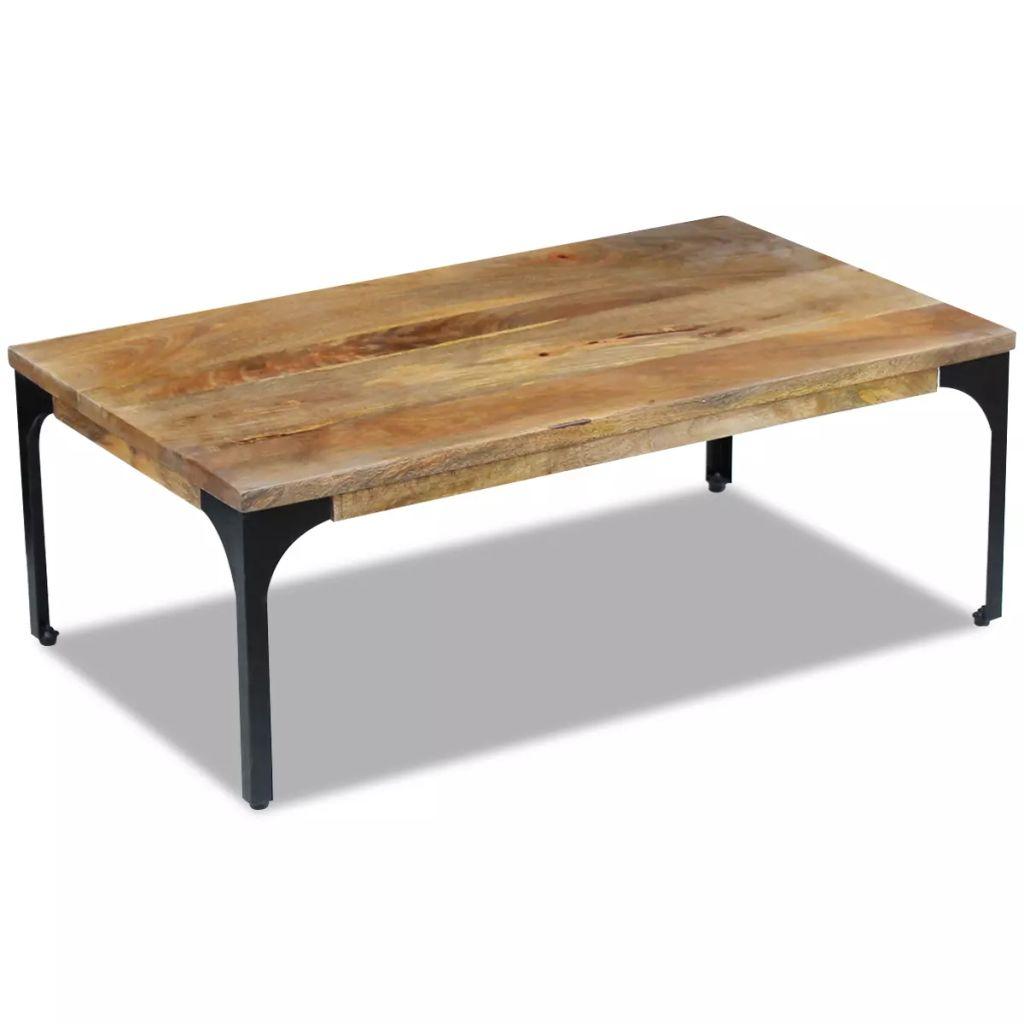 VidaXL Coffee Table Mango Wood 100x60x35 Cm