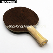 SANWEI ダイナモ卓球ブレード (5 合板、ライト & 高速) SANWEI ラケットピンポンバットパドル