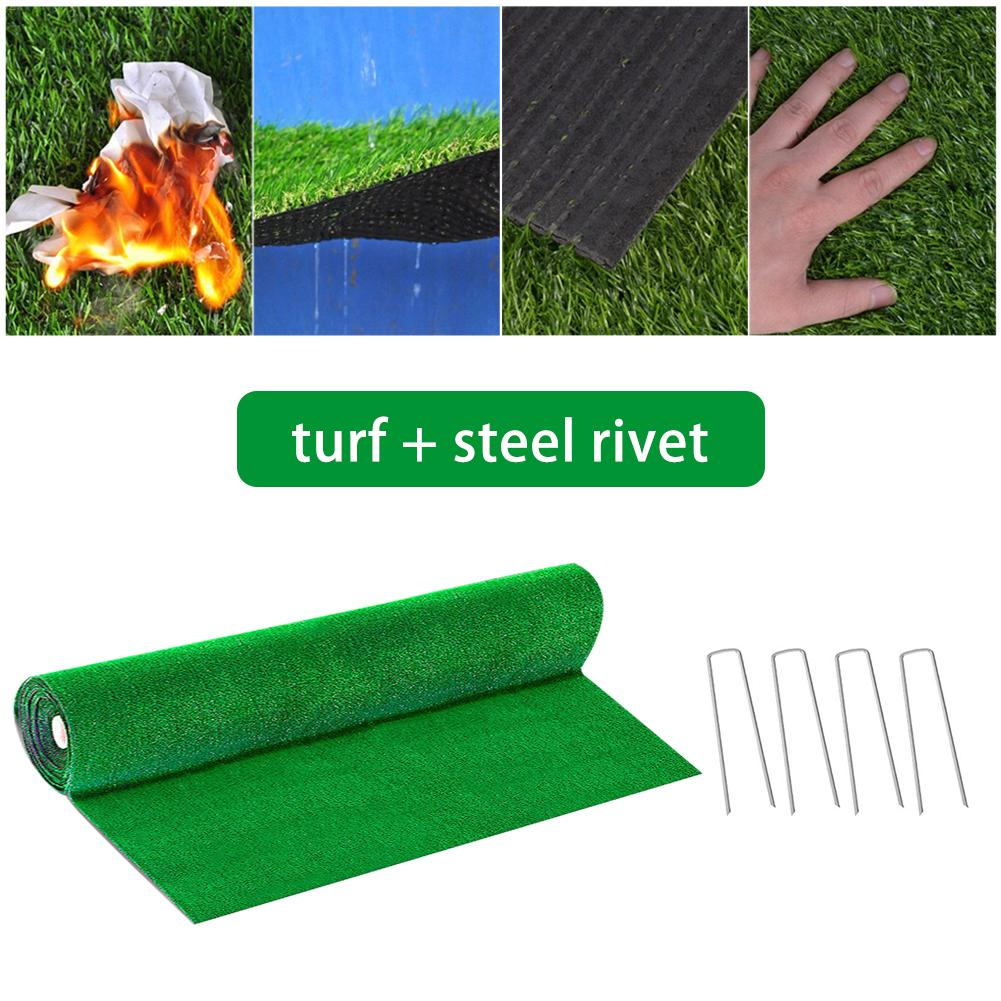 Artificial Grass Landscape Home Simulation Lawn Wall Green Plant Synthetic Drainage Grass Simulation Artificial Turf Set Decor