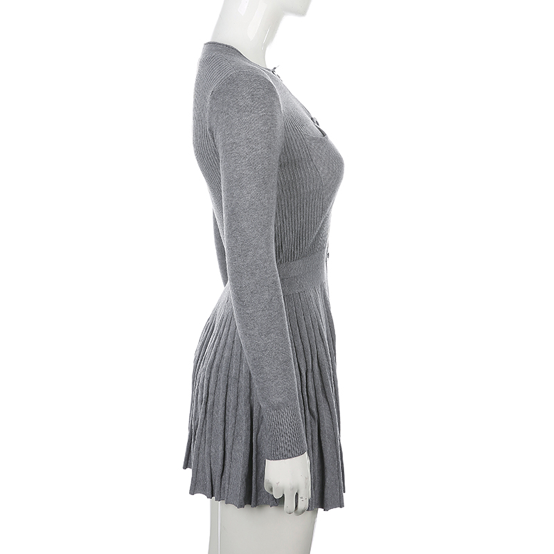 Knitted Sweater Dress (10)
