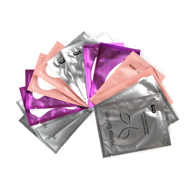 200 Pairs Pillow For Eyelash Extension Paper Patches Grafted Eye Stickers Lashes Under Eye Pads Eye Tips Sticker Wraps Makeup