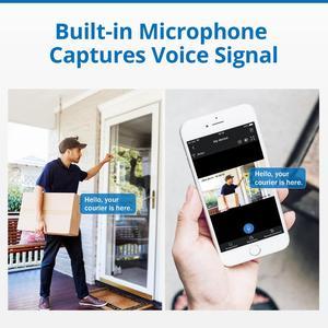 Image 5 - SANNCE système de sécurité, Kit de vidéosurveillance POE 5M 8CH, caméra IP IP étanche pour lextérieur, 2mp, avec microphone, enregistrement Audio, Kit de vidéosurveillance