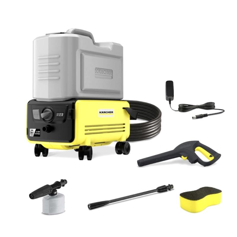 60Bar Portable Electric Car Wireless Washer Machine Cleaner 2000mAh 16L Water Tank IPX5 High-pressure Water Guns