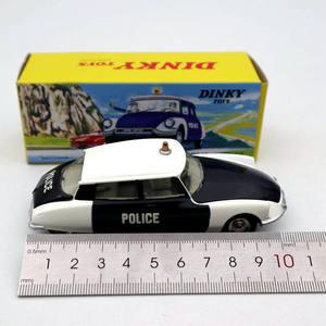 Image 5 - アトラス 1/43 dinkyおもちゃ 501 シトロエンds 19 警察モデルダイキャストコレクション自動車ギフトミニチュア