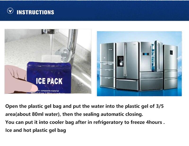 Box Isolamento Da Folha de Alumínio Saco de Gelo novo