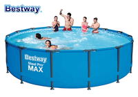 2020 New 56950 Bestway 427x 107cm Power Steelc Pro MAX Frame Pool Set 14'x42 Large Frame Swimming Pool For Whole Family