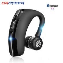 V9 fones de ouvido bluetooth handsfree sem fio fone de ouvido de negócios chamada esportes para samsung iphone