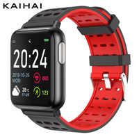 Фитнес-трекер KAIHAI, ЭКГ PPG SpO2, смарт-браслет на запястье, измерение кровяного давления, пульса для android ios