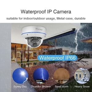 Image 5 - Techage 4CH 1080P Security POE NVR Camera System 2MP Audio Sound IP Camera Outdoor IR Night Vision Surveillance Kit CCTV Video