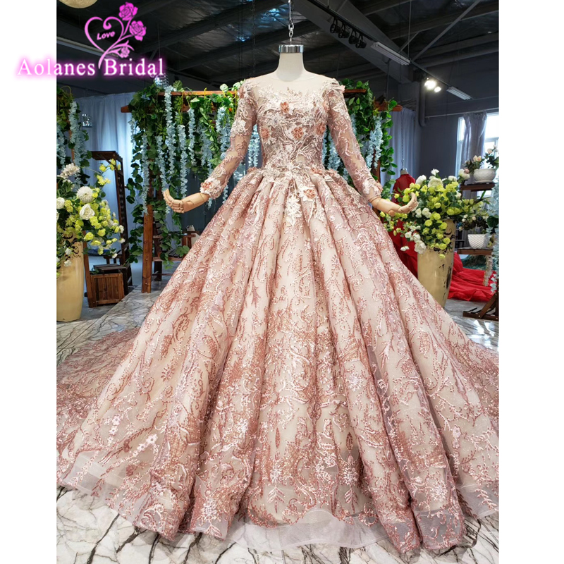 2019 Full Lace Off The Shoulder Prom Dresses Long Sleeveless Ball Gown Beads Crystals Party Gown Long Train Formal Evening Dress
