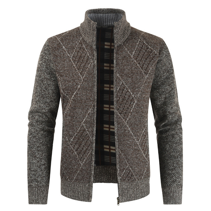 Mens Sweater Autumn Knitted Sweaters Men's Cardigan Jackets Coats Male Clothing Casual Knitwear J6T853