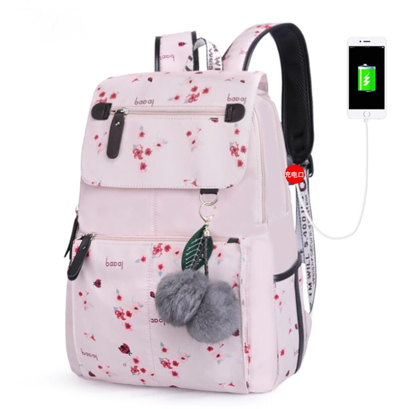Fashion School Bag 2020 Teenager School Bag Backpack Waterproof Bagpack School Bag For Teenagers Mochila Escolar Feminina