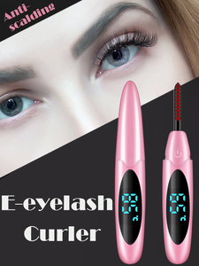 Small and Convenient electric heated eyelash curler type C usb rechargeable lash curler pen Eyelash Beauty Tool heats up quickly