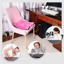 Autumn And Winter Warm USB Electric Heating Car Office Chair Heating Pad Household Cushion Cardriver Heated Seat Cushion square multifunctional plush heated electric blanket pet heating pad safety thermostat warm carpet heating office chair cushion