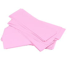 70pcs Removal Nonwoven Body Cloth Hair Remove Wax Paper Rolls High Quality Hair Removal Epilator Wax Strip Paper