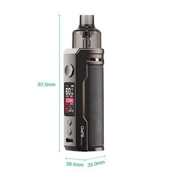 VOOPOO – DRAG S – Kit de vapoteur avec batterie intégrée de 2500mAh, avec cartouche de 4.5ml, bobine PnP VM5, 60W, Drag X/Target PM80