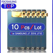 Super LCD Display 100% Tested Touch Screen Assembly For Samsung Galaxy J7 2016 J710 SM-J710F J710M J710H J710FN (Not Adjusted)(China)