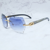 Wood Luxury Sun Glass Men Decoration Designer Wholesale Sunglasses Elegant Carter Glasses Leisure Party Eyewear Buffs Sun Shades