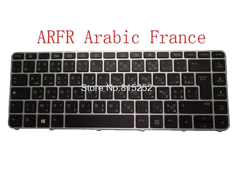 Клавиатура для ноутбука HP EliteBook 1040 G3 844423-AB1 752928-AB1 SG-59840-XMA 758027-AB1 844423-041 844423-171 ARFR/GR