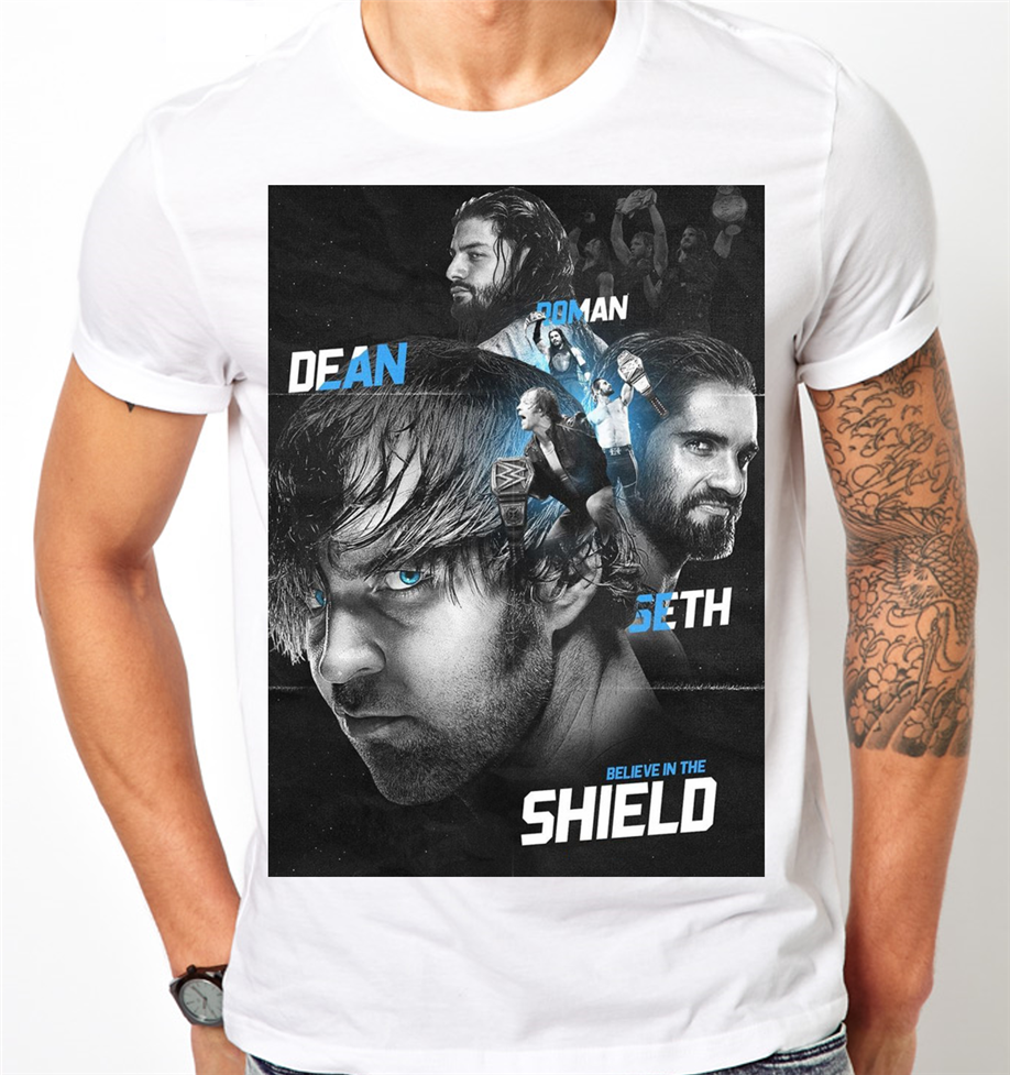 The Shield Seth Rollins Roman Reigns Dean Ambrose Kids Mens …
