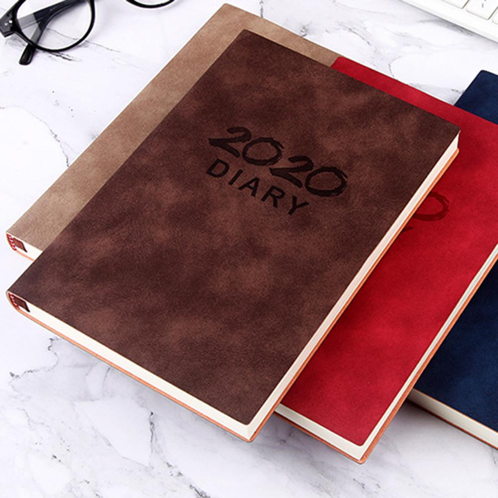 2020 Calendar Monthly Planner 365 Days Daily Schedule Plan Notebooks With For Home Office Students Supplies