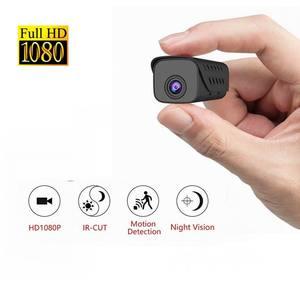 Мини-камера с аккумулятором 850 мАч, HD 1080P, видеокамера DV, диктофон, ночное видение, микро-камера, Автомобильный видеорегистратор, камера обнар...