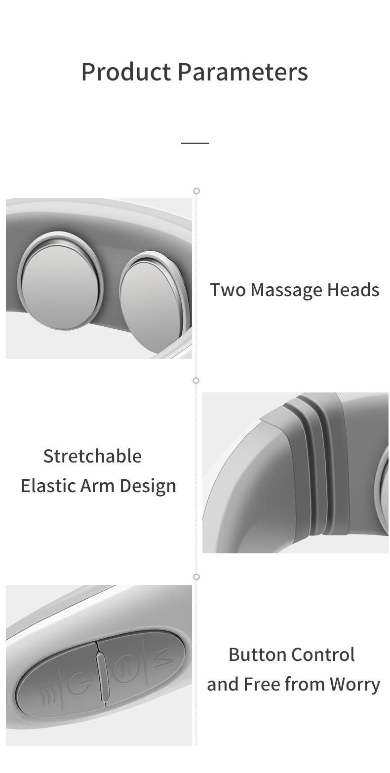 Jinkairui 2020 mais novo pulso pescoço massageador