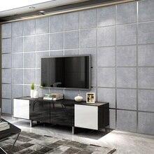 Estilo europeu moderno 3d estereoscópico pacote macio camurça não-tecido papel de parede para o quarto sala de estar tv fundo papel de parede rolo