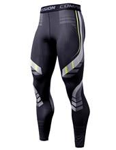 Pantalones de compresión para hombre, ropa deportiva de secado rápido, mallas para correr, entrenamiento de Fitness, Leggings deportivos sexys para gimnasio