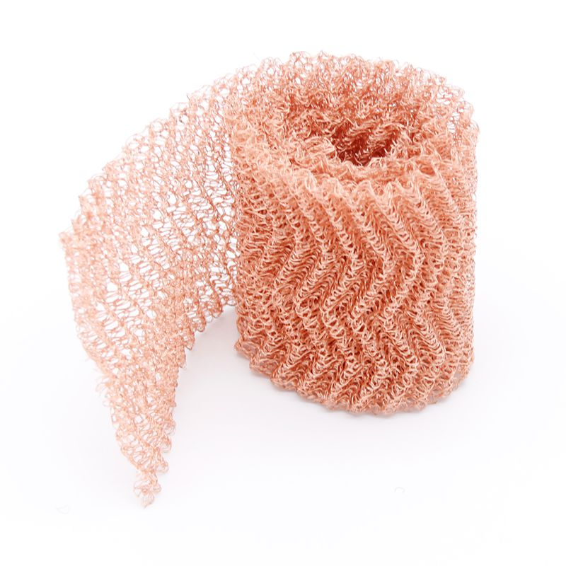 1Meter Pure Copper Mesh Filter For Distillation Moonshine Column Packing Woven Wire Screen Filter 4 Wires 10cm Width