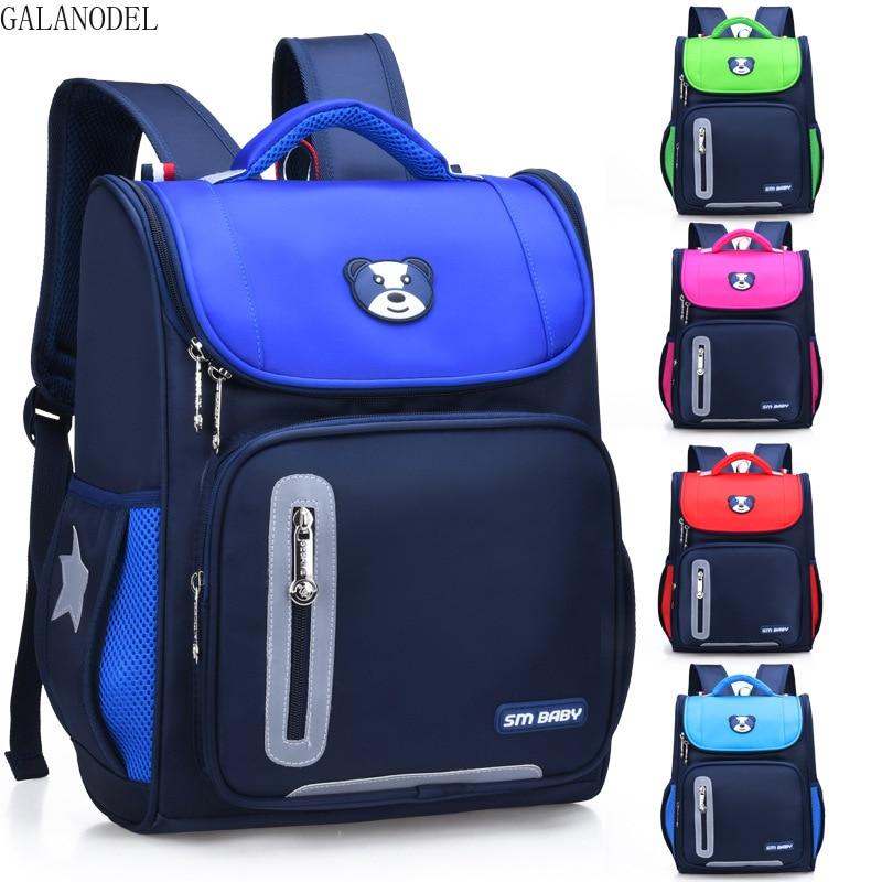 Girls Cute School Backpacks Children HandBag Orthopedic Backpack for Boys Kids Satchel Knapsack Mochila Gift