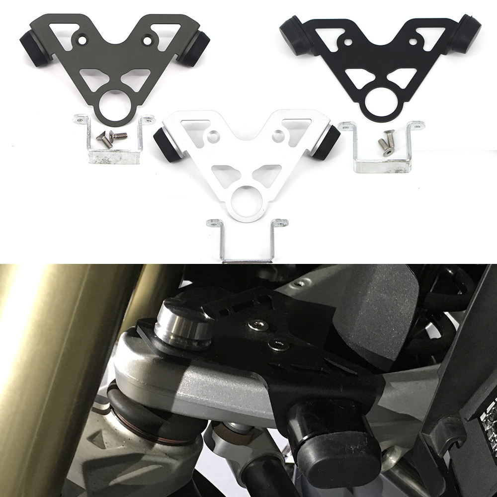 For R 1200 GS Oil Cooler R1200GS ADV Adventure 2005 2006 2007 2008 2009 2010 2011 2012 Steering stop directional positioner|Covers & Ornamental Mouldings| |  - title=