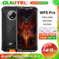 Смартфон OUKITEL WP8 Pro на Android 6,49, восемь ядер, экран 10,0 дюйма, 4 Гб + 64 ГБ