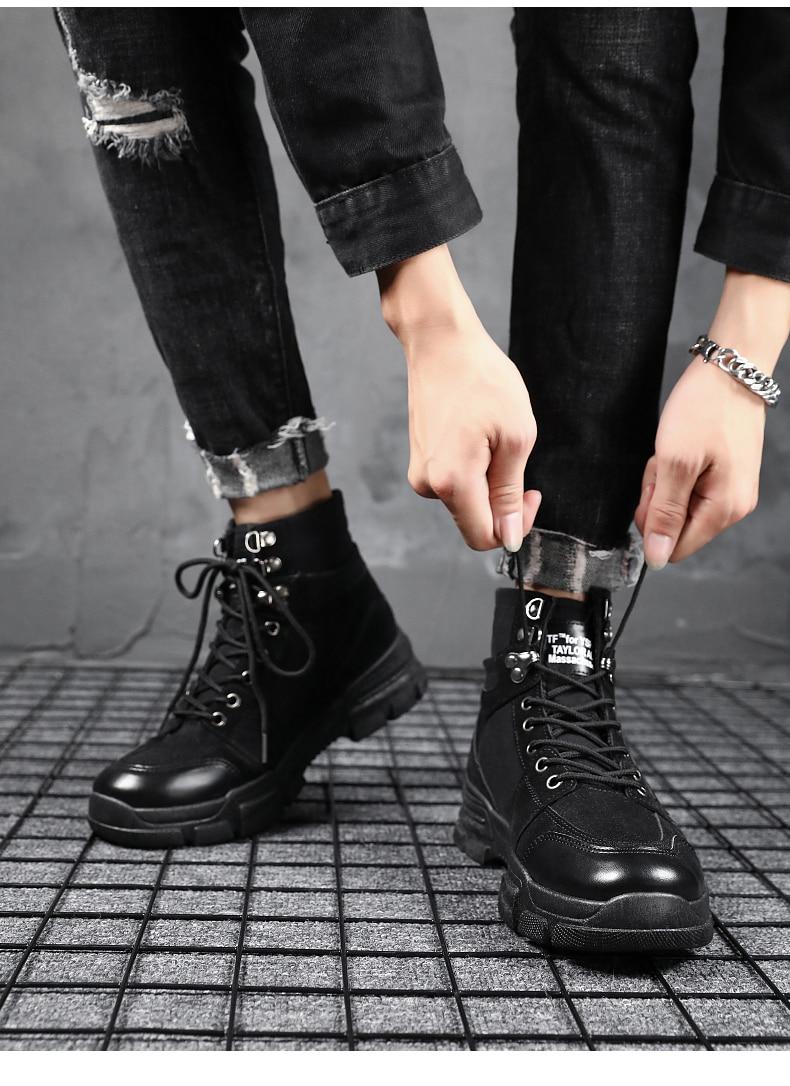 US $17.79 30% OFF|YRRFUOT Männer Mode Schuhe Lace up Trend Neue Mann Mode Sneaker Vulkanisierte Schuhe Zapatillas Hombre 2019 Männer Mode Schuhe
