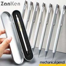 Zanken mechanical pencil 0 5 press type student use drawing stroke professional art supplies 0 7 calligraphy test use cheap CN(Origin) 0 5mm Paint Mechanical Pencils Metal