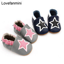 Baby Shoes Soft Genuine cow Leather Baby Boys Girls Infant toddler Moccasins Shoes Slippers First Walkers Non-slip 109