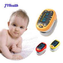 JYHealth Baby Finger Pulse Oximeter Pediatric Oximetro pediatrico De Dedo OLED Rechargeable Neonatal Children kids Pulsioximetro