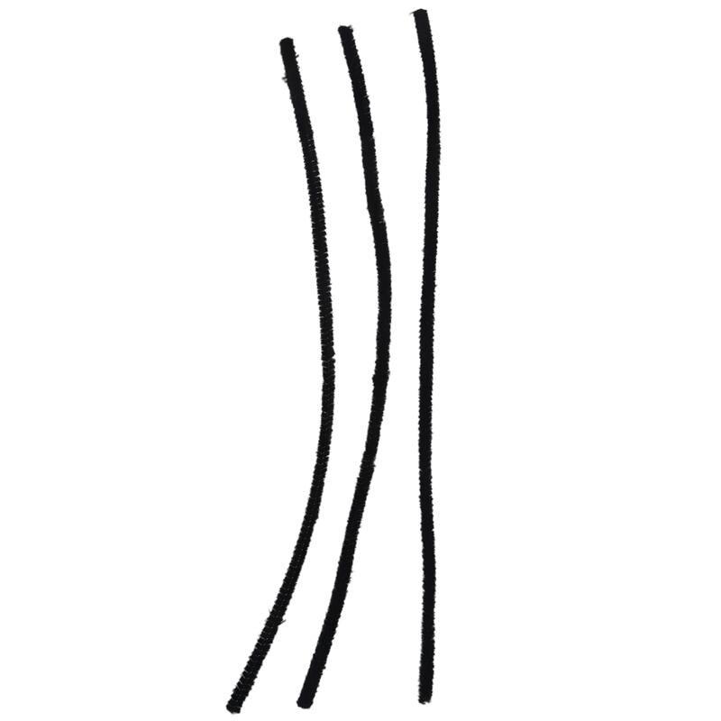 100 pièces 30cm Noir pipes