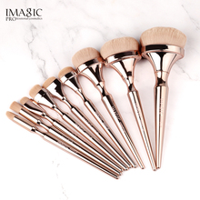 IMAGIC Powder Foundation Poeder Makeup Brushes Soft Brush Kwasten Tools Kit Professional Borstel Girls Set