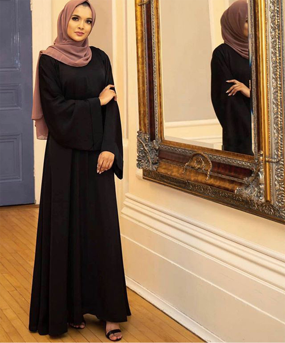 Muslim Kaftan Hijab Dress Women Abaya Dubai Caftan Marocain Turkey Islamic Clothing Robe Longue Femme Musulmane