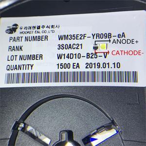 Image 3 - 1600 個wooree ledバックライト 2 ワット 6v 3535 150LMクールホワイトWM35E2F YR09B eA lcdバックライトテレビtvアプリケーション