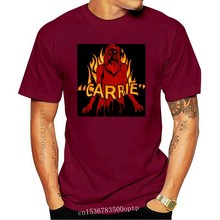Carrie Blood & Fire Men'S T Shirt Possessed Horror Movie Film Merch Stephen King New Unisex Funny Tops Tee Shirt