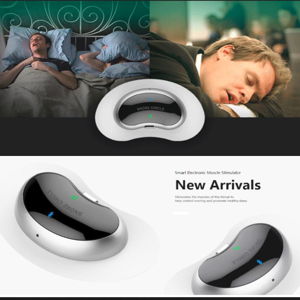 Smart Snurken Stop Biosensor anti snurken Slapen Aid met APP en sleep monitor slaap steun apparaat CPAP vervanger Stop Snurken - 6