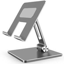 Металлический стол мобильный телефон подставка держатель для iPhone iPad Xiaomi Регулируемый Настольный держатель для планшета универсальный настольная подставка для мобильного телефона